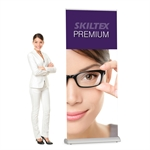 PREMIUM roll up banner - inkl. print - 60 x 200 cm