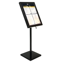 Black Star Weather Resistant LED menustand med lys