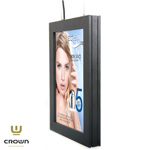 A4 CROWN LED Dobbeltsidet Plakatrammer