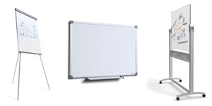Alle slags whiteboards