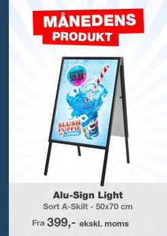 c8325976 Gadeskilte og A-skilte | Danmarks laveste priser | Køb her