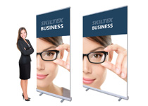 BUSINESS roll up med print