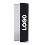 ECONOMY LOGO roll up banner inkl. tryk - 40 x 200 cm