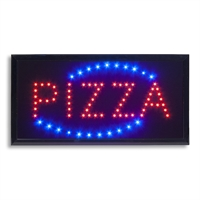 """PIZZA"" LED lysskilt"
