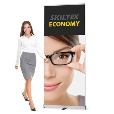 ECONOMY roll up banner inkl. print