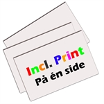 3mm Plade - Incl. print p� �n side