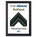 Antique snapramme med 40mm profil