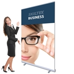BUSINESS roll up banner inkl. print