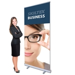 BUSINESS roll up banner inkl. print - 85 x 200 cm