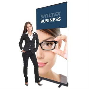 BUSINESS sort roll up banner inkl. print - 85 x 200 cm
