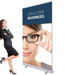 BUSINESS roll up banner inkl. print - 100 x 200 cm