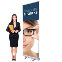 BUSINESS roll up banner inkl. print - 60 x 200 cm