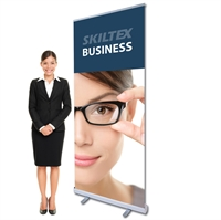 BUSINESS roll up bannere inkl. print