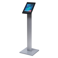 Sleek tablet / iPad holder til gulv - Sort