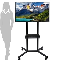 Slim TV Stander med hjul
