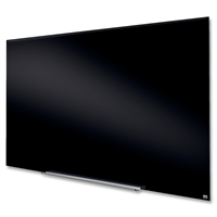 "Nobo Widescreen 85"" sort glastavle - 106x188 cm"